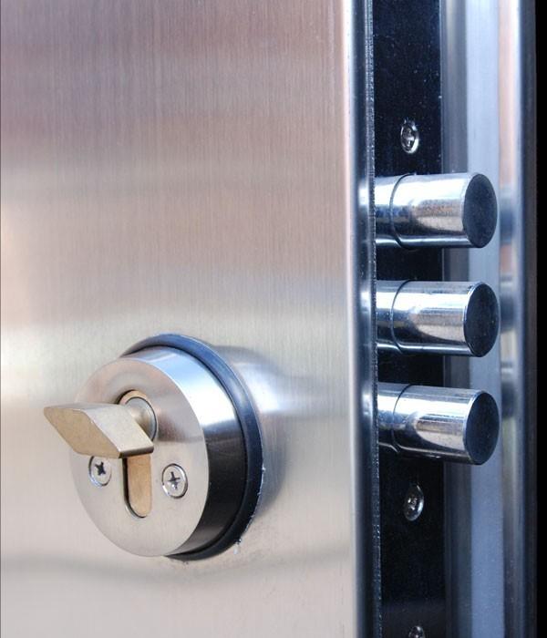 Multi Point Locking Stainless Steel Door & Multi Point Locking Stainless Steel Door   Latham\u0027s Steel Doors