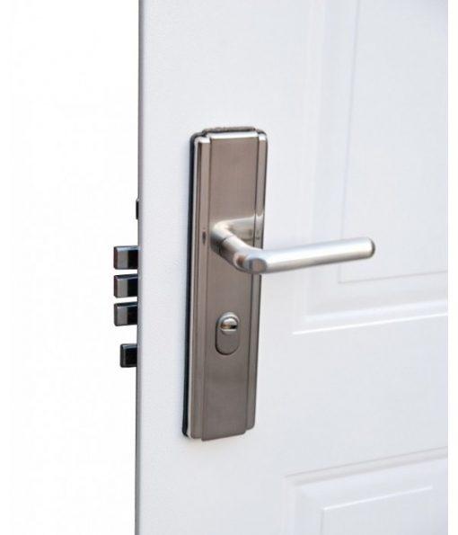 6 Panel Steel Door Handle