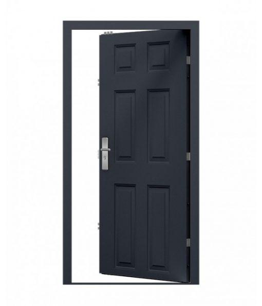 Grey georgian panel Door