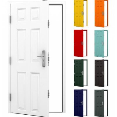 6 Panel Steel Door Main product image