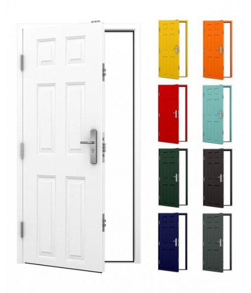 6 Panel Steel Door Main product image