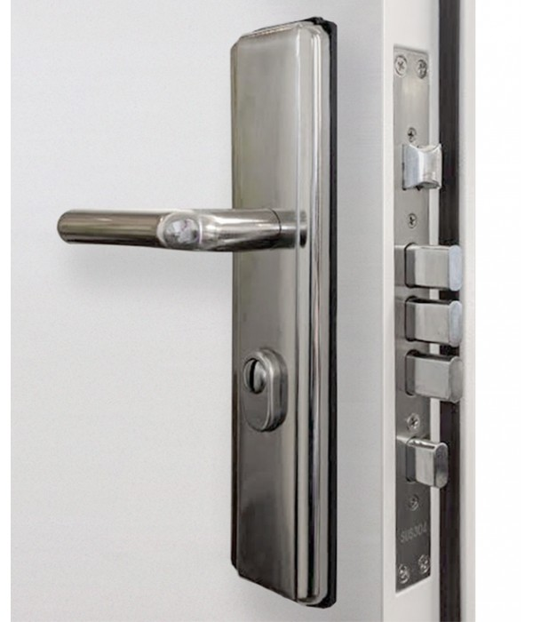 Steel Security Doors Double Latham S Steel Doors