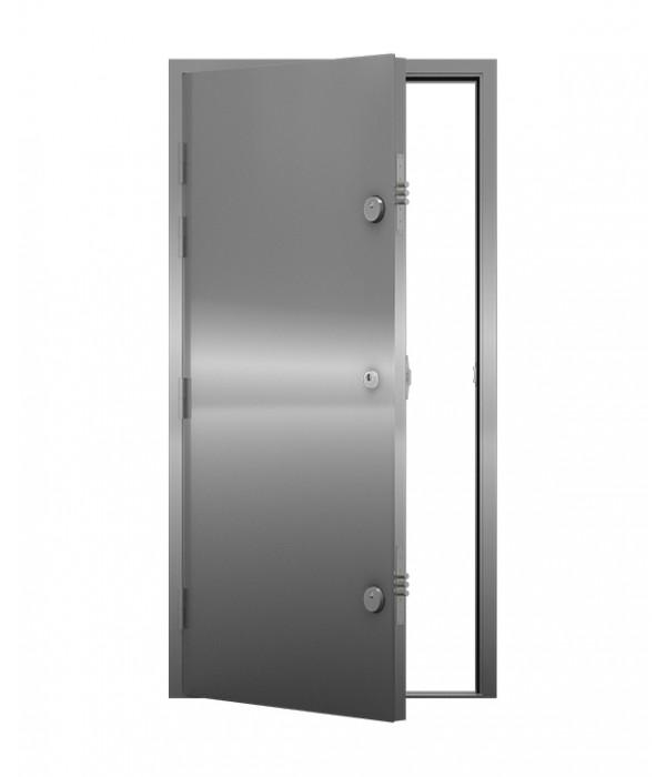how to clean a steel door
