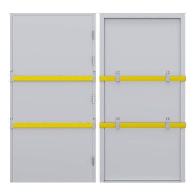 Single door drop bar kit