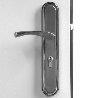 Hooply Handles, #2066T, Closed View, LH Hinge
