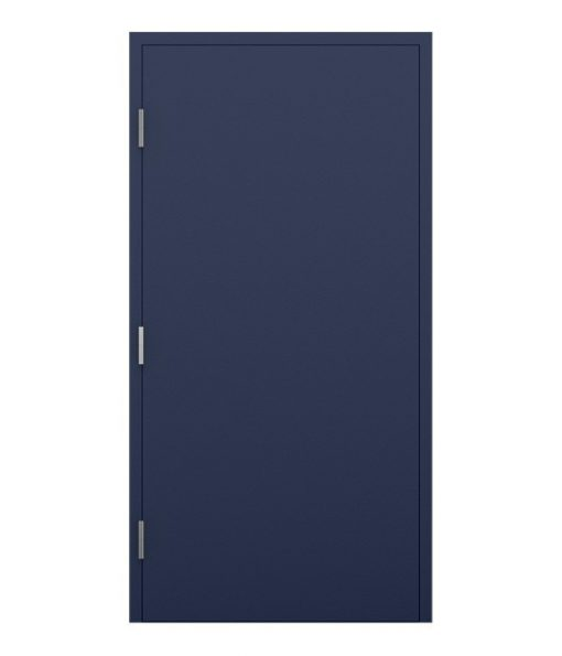 Cobalt Blue Fire Exit Door