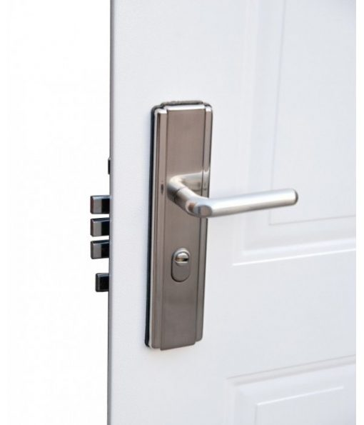 6 Panel Steel Door Handle