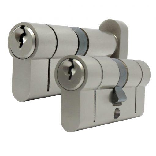 Steel door euro cylinder