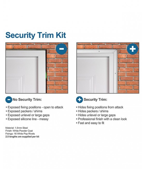 Security Trim Kit | Latham's Steel Security Doors