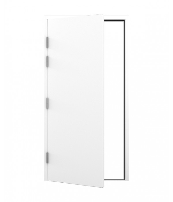 Blank Steel Door and Frame | Latham\'s Steel Doors