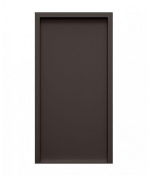 Vandyke Brown Blank Steel Door