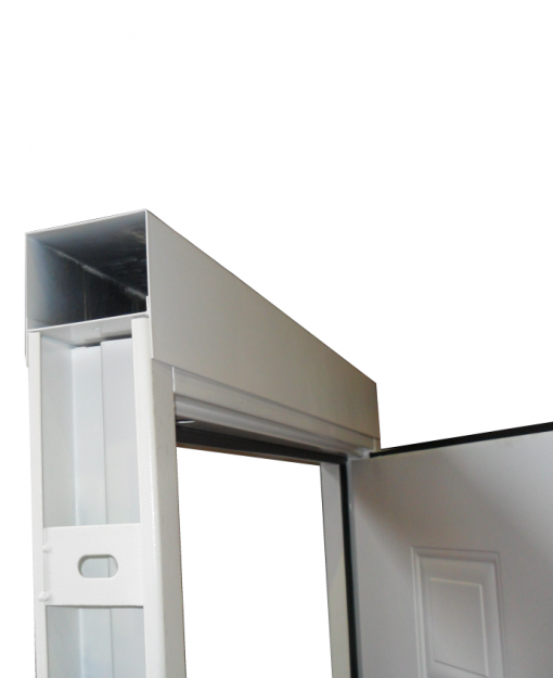 Overhead panels for Latham's Steel Doors