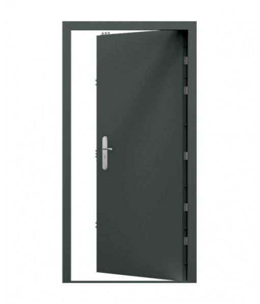 Grey High Security Steel Door