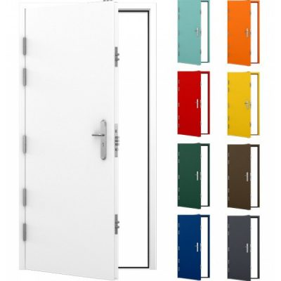Lathams most popular ultra high security steel door
