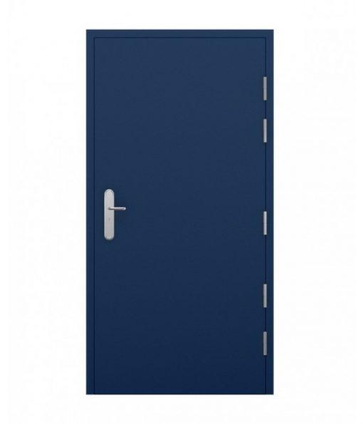 Blue High Security Steel Door