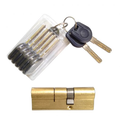Euro cylinder lock for Latham's ultra door