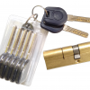 Door cylinder and spare keys
