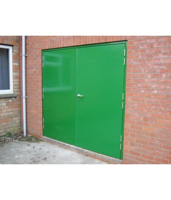 Custom Made Double U0026 Leaf+Half Personnel Steel Door Set