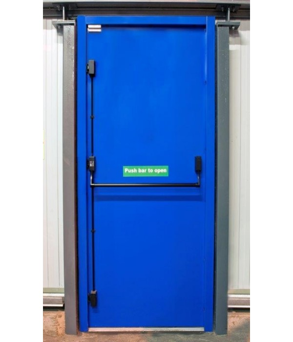 Unique Fire Door : Custom made fire exit doors latham s steel