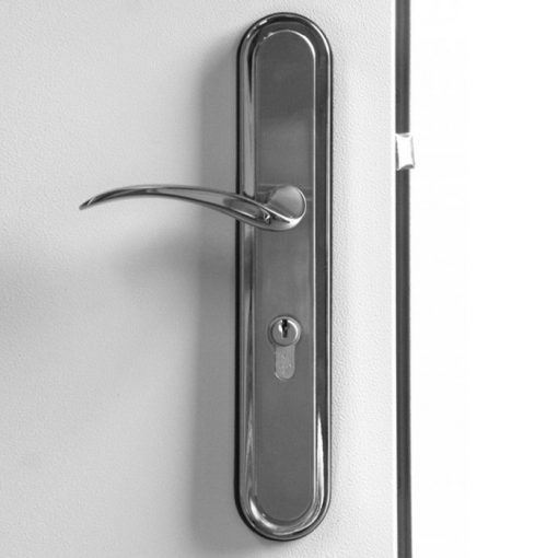 UPVC Hooply Handles, #2018T, Closed View, LH Hinge