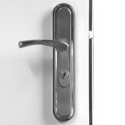 Hooply Handles, #2066X, Closed View, LH Hinge