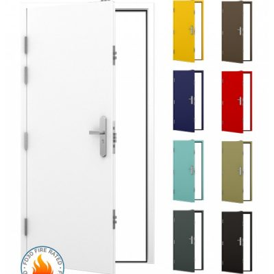 FD30 Security Steel Fire Door