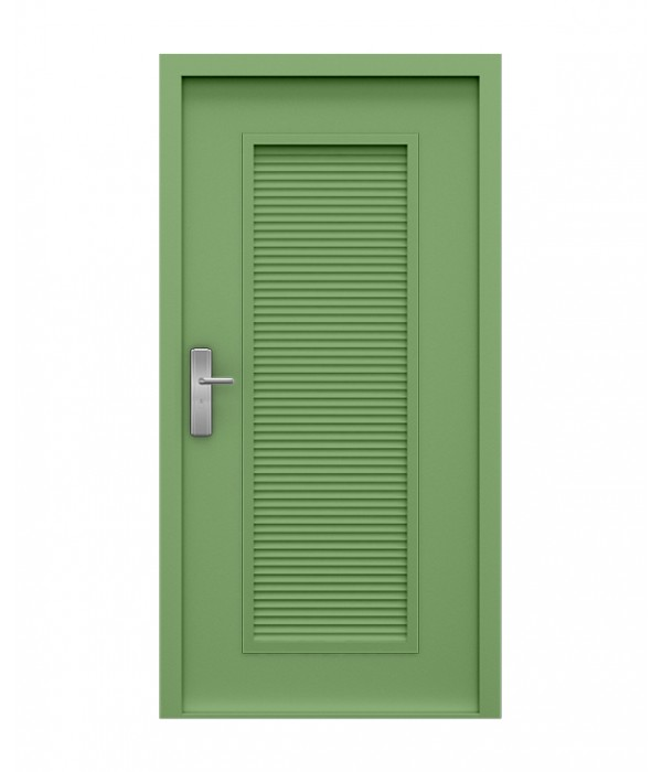 Pale Green Steel Louvre Door  sc 1 st  Latham\u0027s Steel Doors : louvred door - pezcame.com