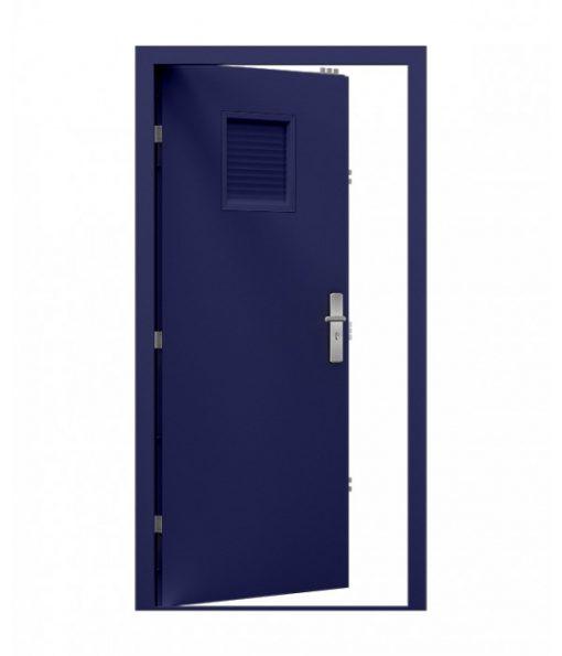 Cobalt Blue Server room Door with louvre