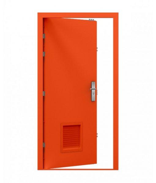 Louvred Door (Security)