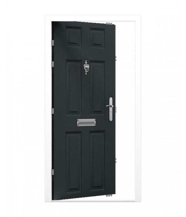 Security Front Door 6 Panel Latham 39 S Steel Doors