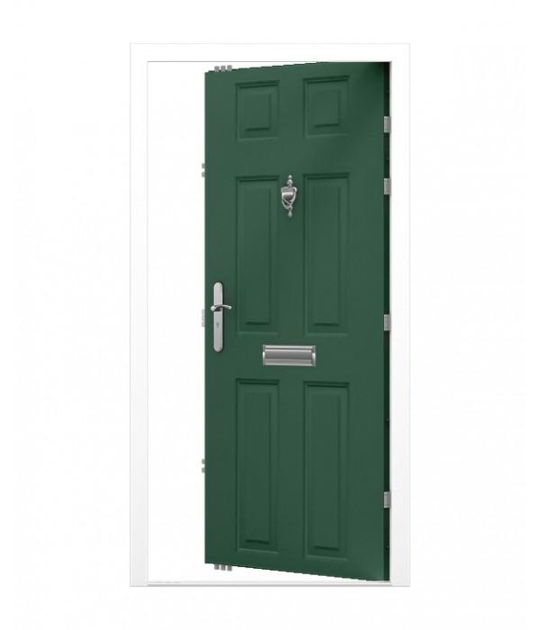 Security Front Door 6 Panel Lathams Steel Doors