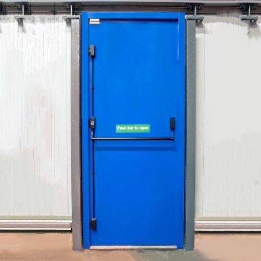 Custom Made Single Fire Exit Steel Door