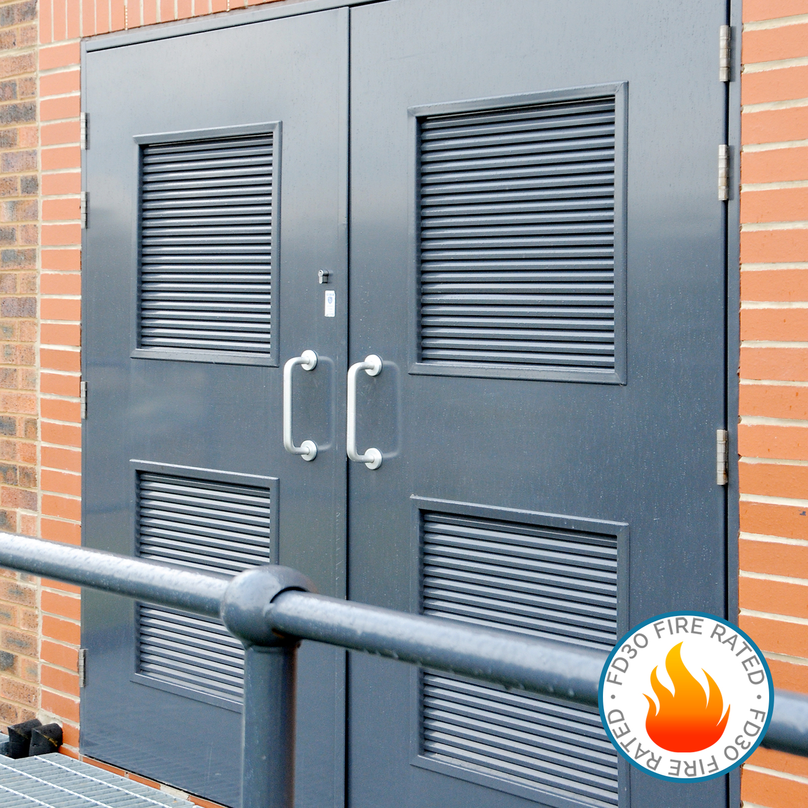 Unique Fire Door : Fire rated double doors latham s steel