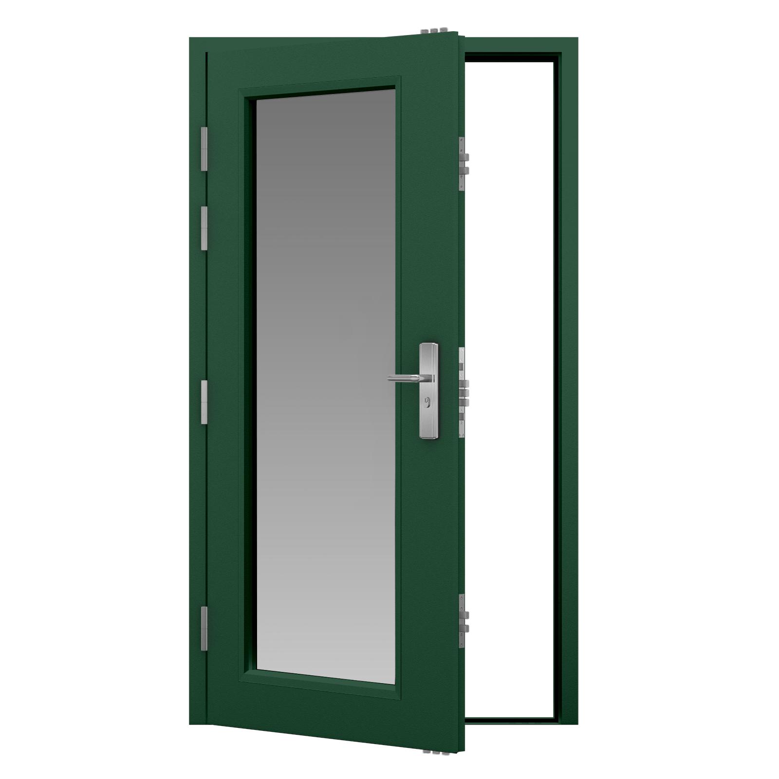 Spray Paint Steel Door