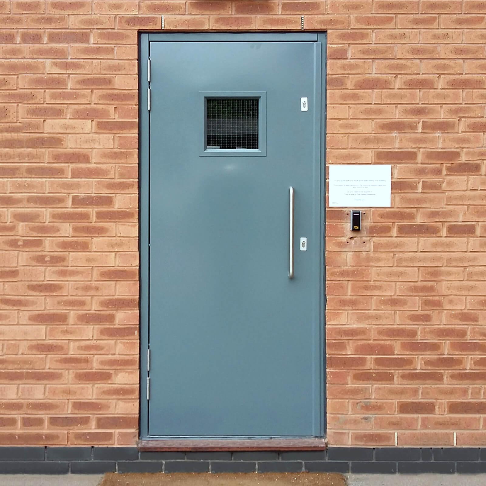 Custom Made Doors : Custom made single steel doors latham s