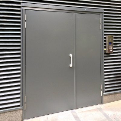 Custom Made Steel Double Steel Doors Latham S Steel Doors