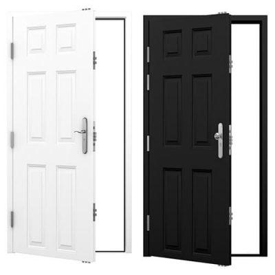 Panelled Steel Security Doors