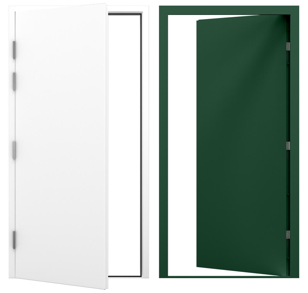 A selection of Latham's Blank Steel Doors, for the Category Image