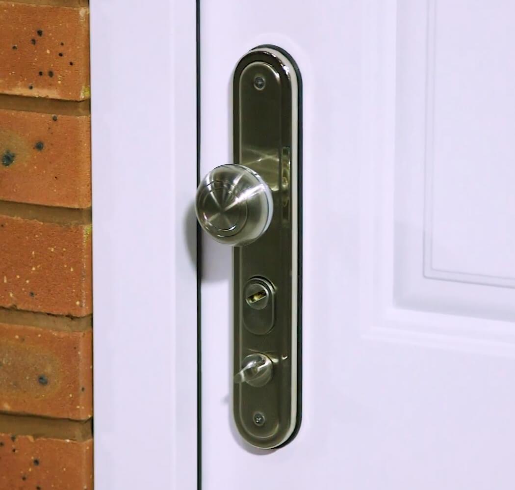 Steel Security Door Handle, for Steel Door Accessories Category image