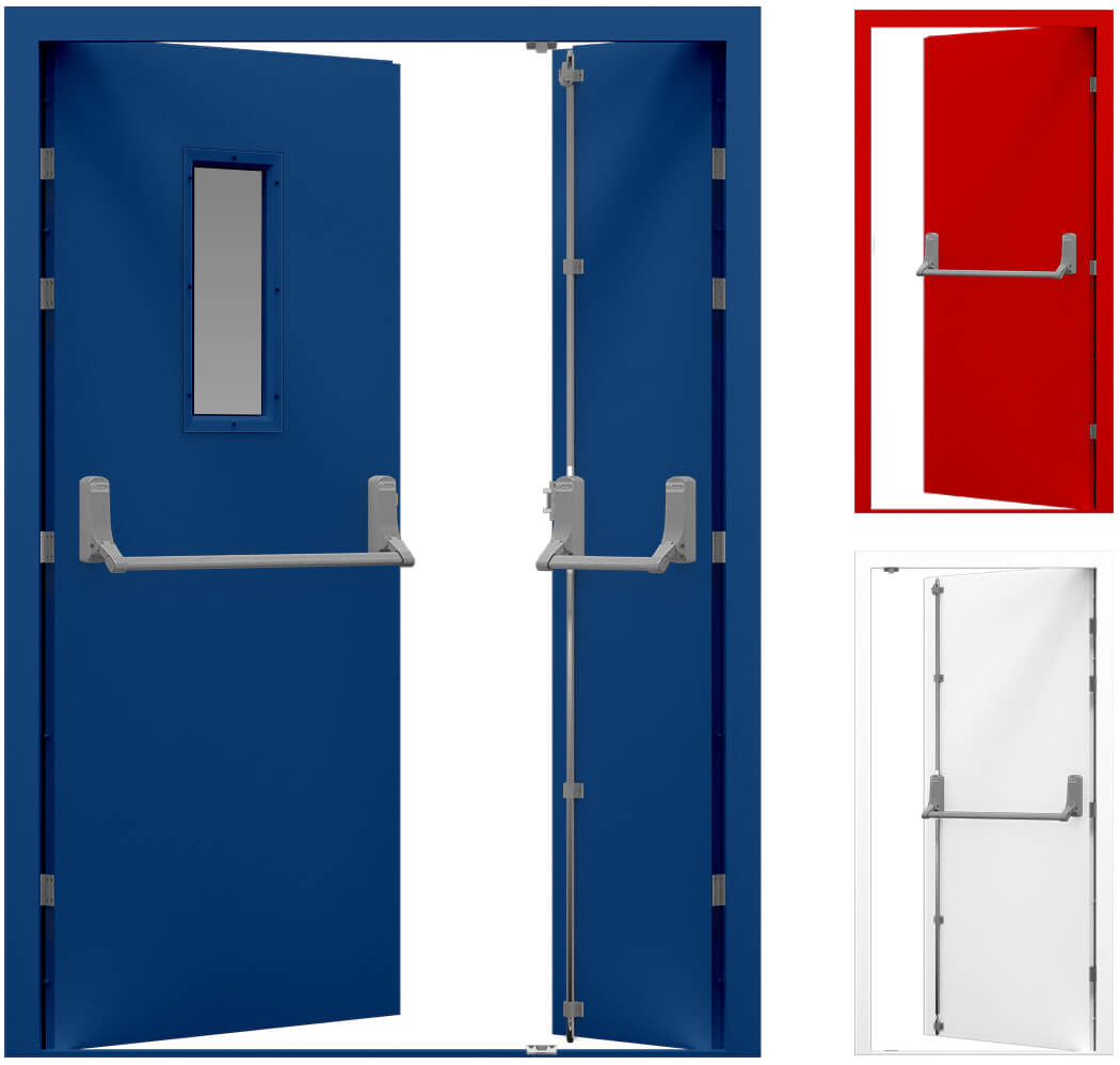 Steel Doors Amp Fire Exit Doors From Latham S Steel Security