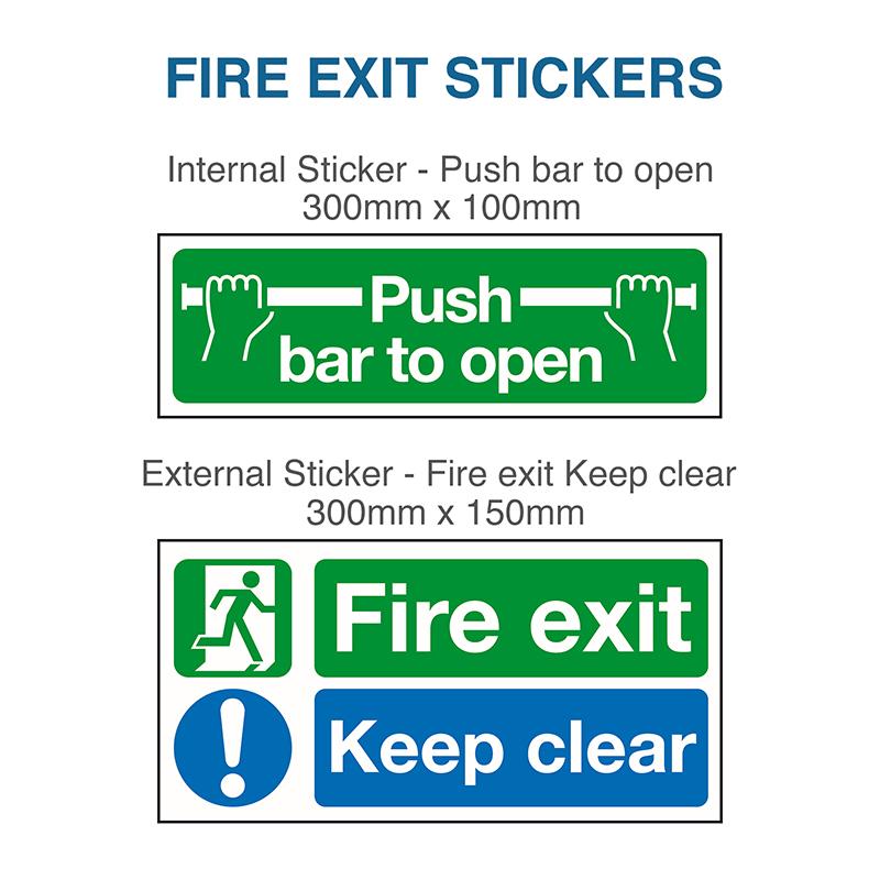 Budget Fire Exit Door Latham S Steel Doors