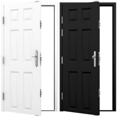 Clearance Panelled Security Doors