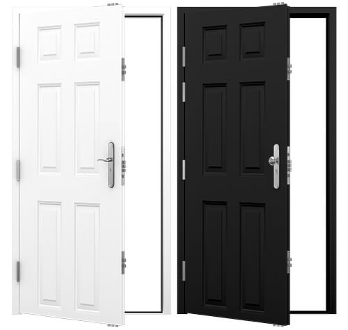 6 Panel Steel Security Doors Category Image
