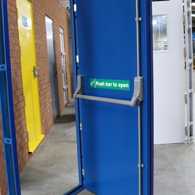 Clearance Steel Doors