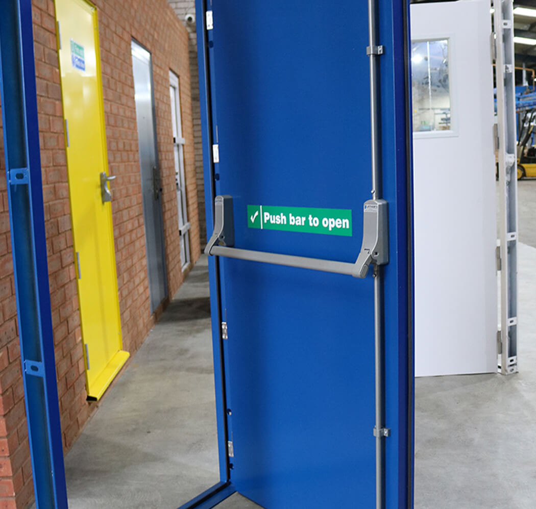 Photo of latham's clearance steel doors, used as category image