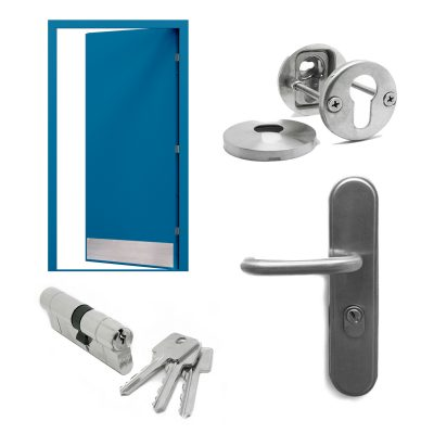 Steel Door Hardware & Accessories