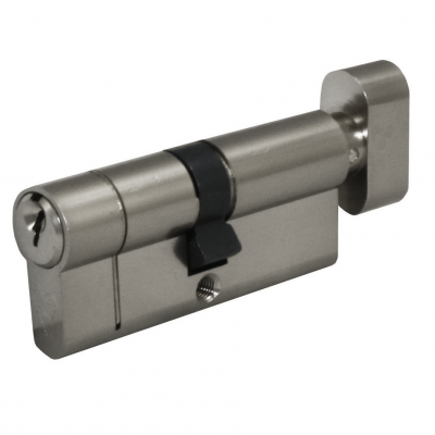 Thumb turn cylinder option for Latham's steel doors