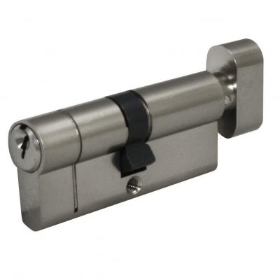 Thumb turn cylinder option for Latham's steel doors