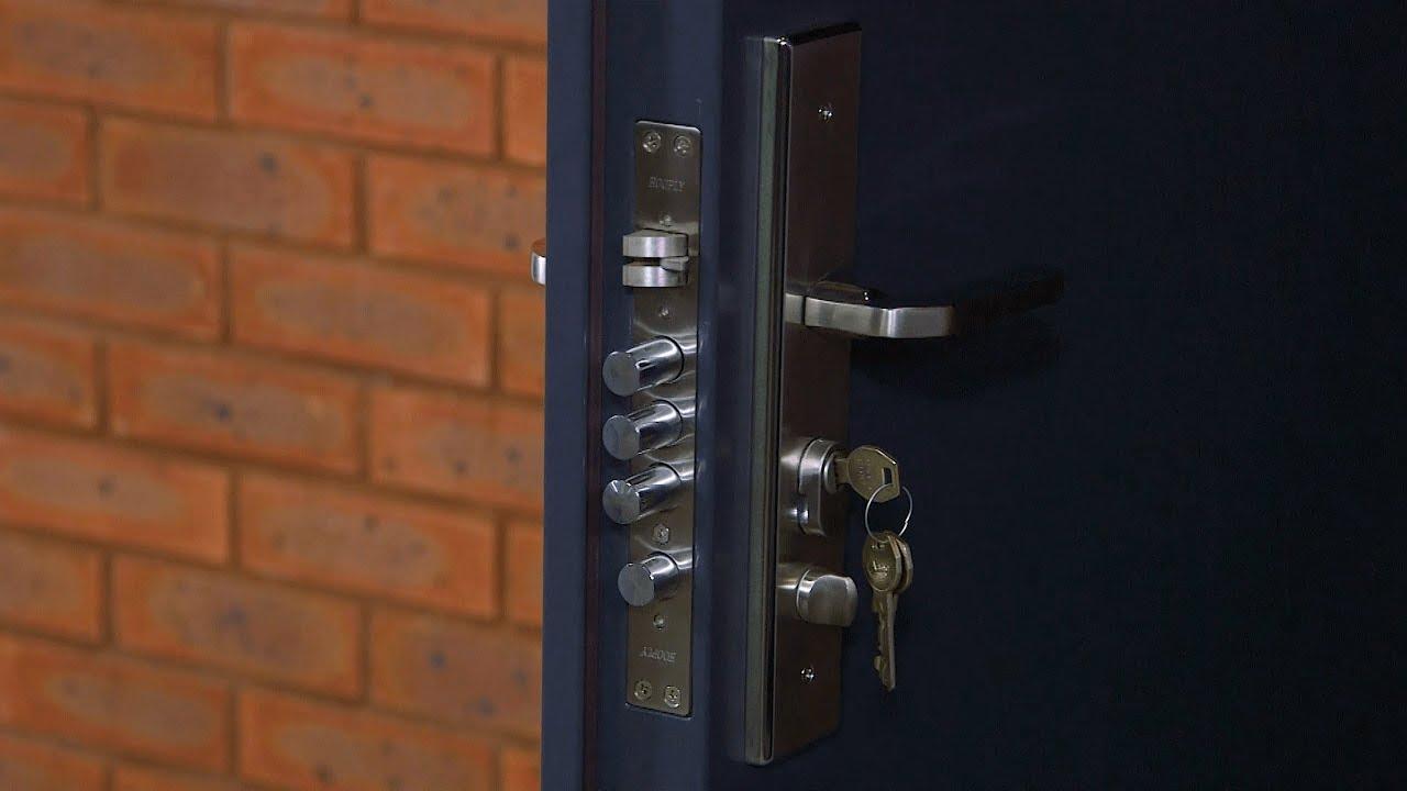 High Security Front Door Latham S Steel Doors