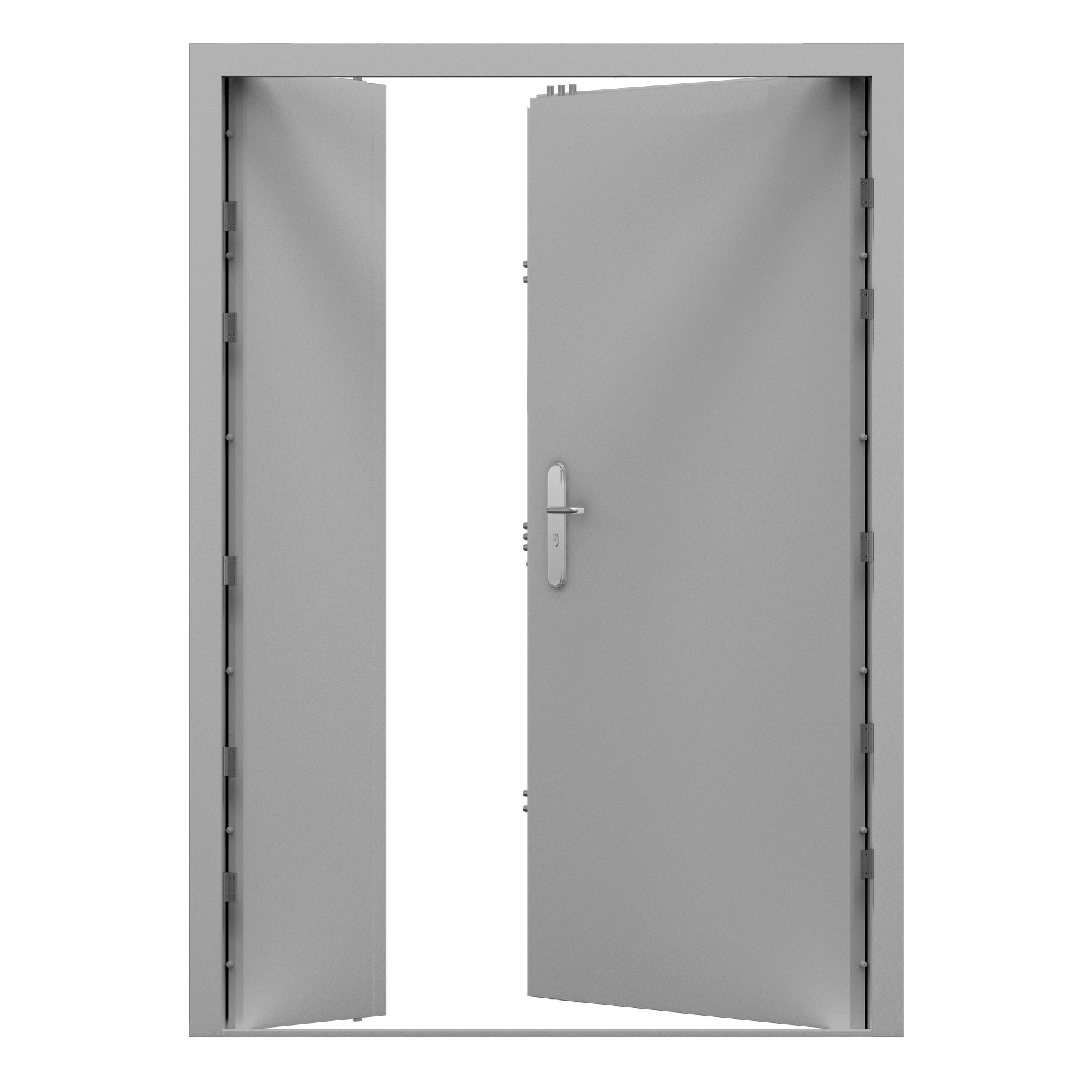 Ultra Double Steel Door High Security Latham S Steel Doors
